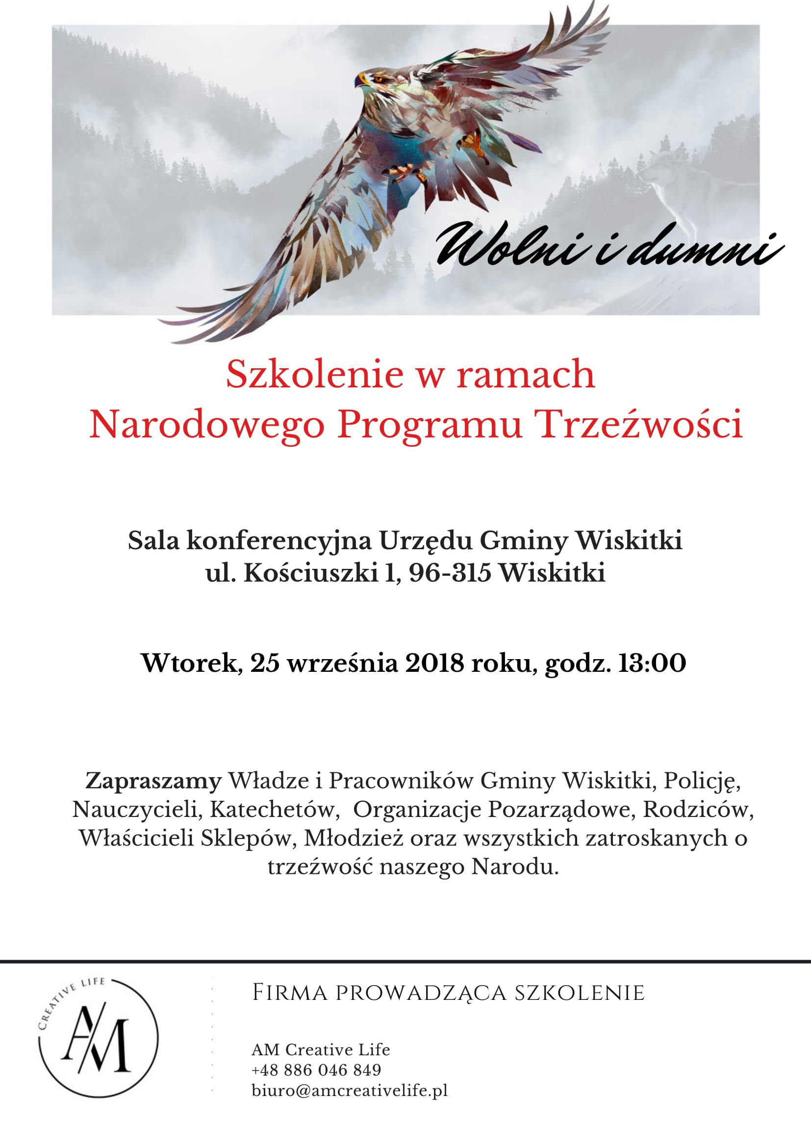 Plakat - Gmina Wiskitki-1