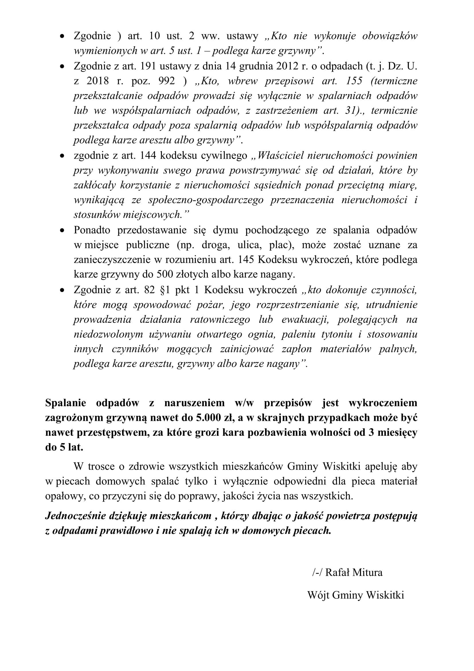 ZAKAZ PALENIA ŚMIECI- wersja mocniejsza-2