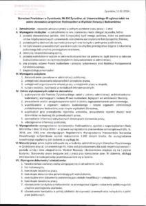 Nabór na stanowisko Podinspektor w Wydziale Rozwoju i Budownictwa w Starostwie Powiatowym w Żyrardowie-page-001